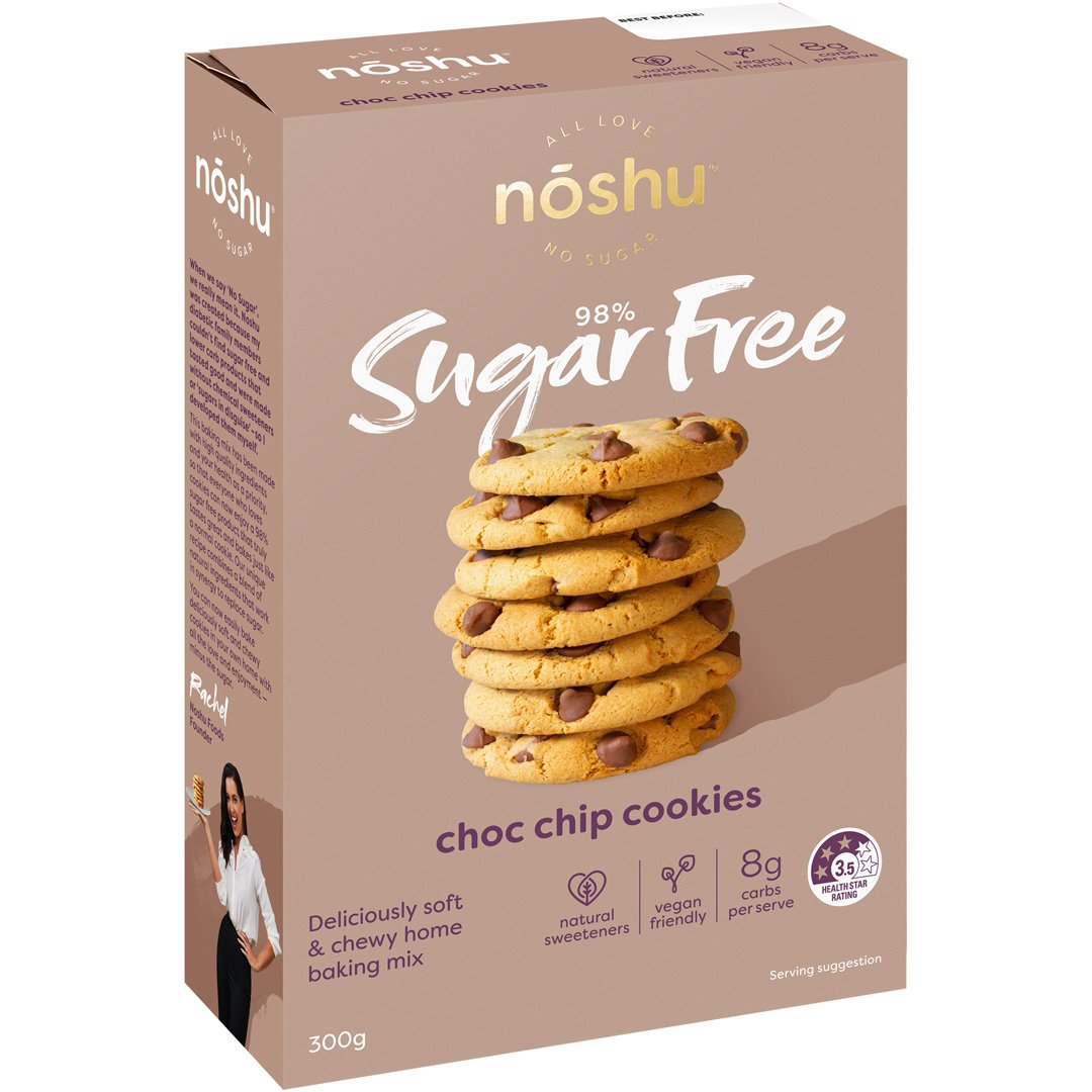 98% Sugar Free<br>Choc Chip Cookie Mix
