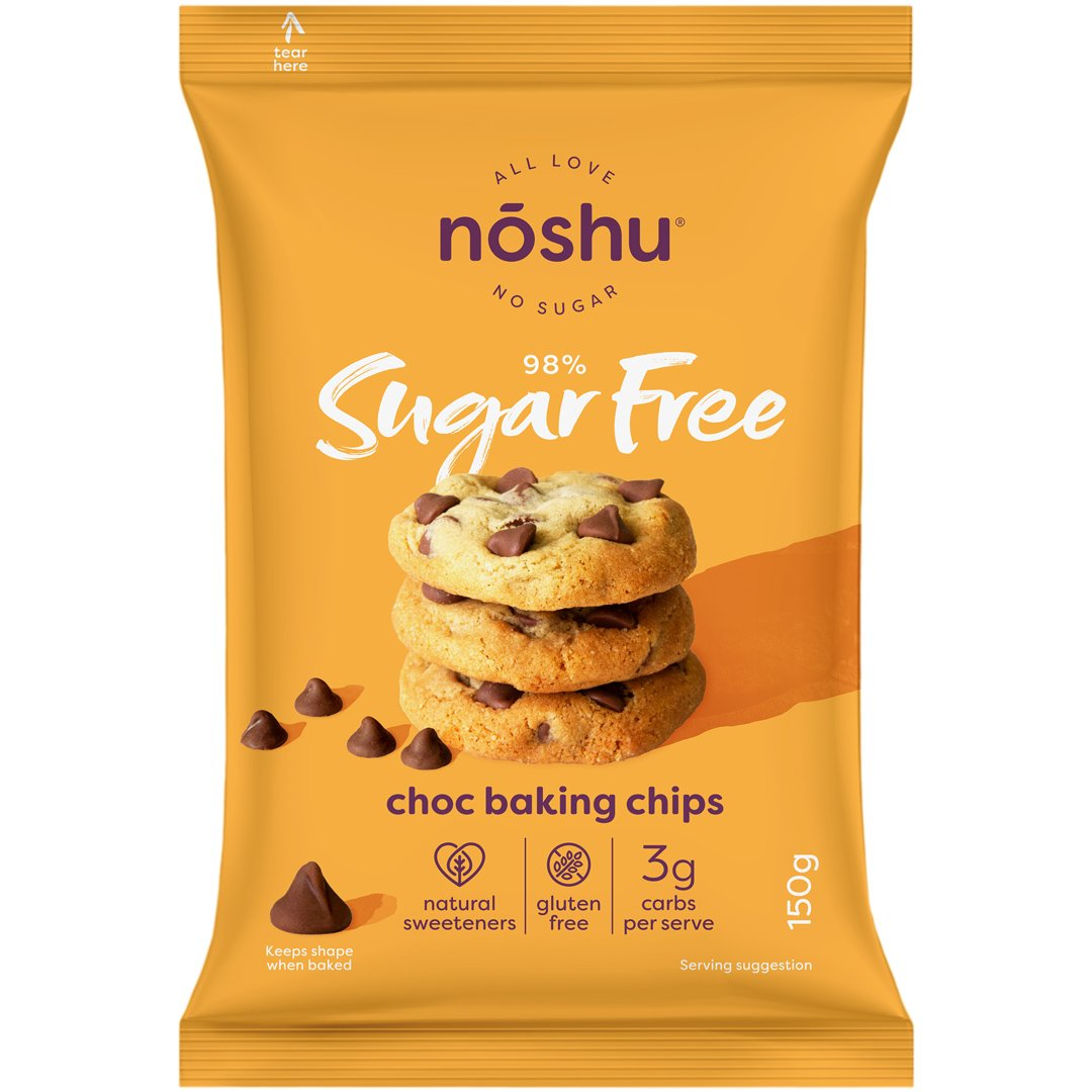 98% Sugar Free<br>Choc Baking Chips