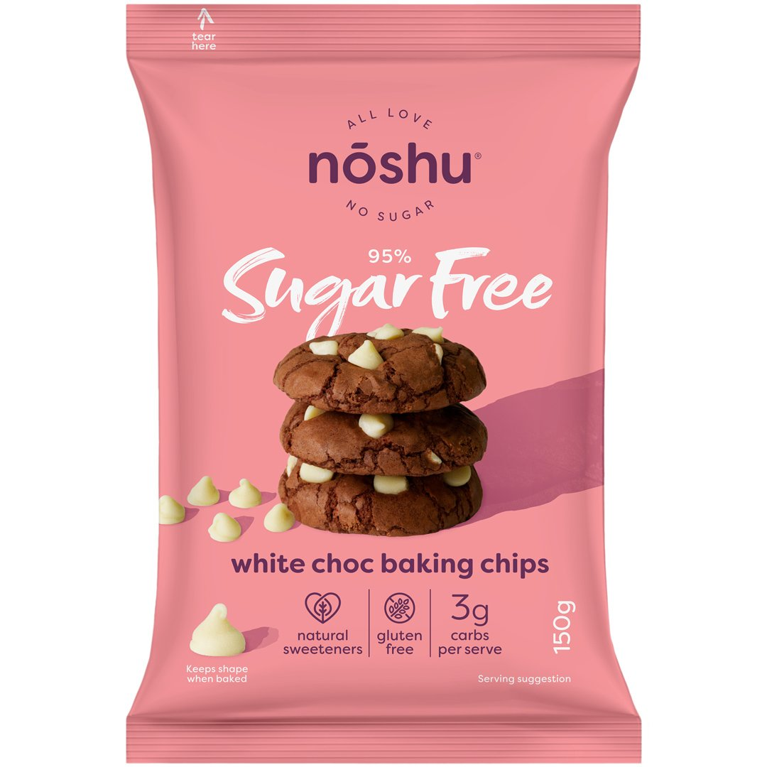 95% Sugar Free<br>White Choc Baking Chips